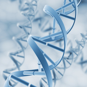 DNA. Abstract background